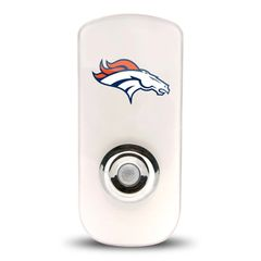 Denver Broncos Night Light LED Flash Light w/Built In Sensor NFL