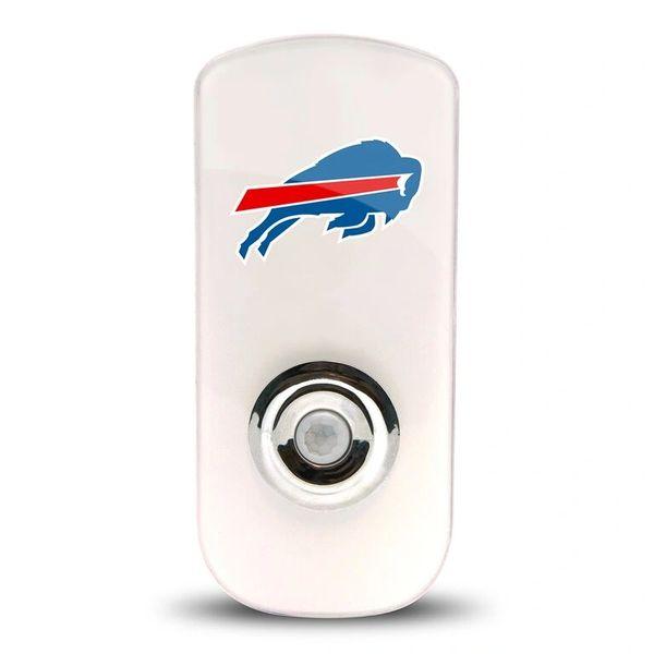 Buffalo Bills Night Light LED Flash Light w/Built In Sensor NFL Licensed