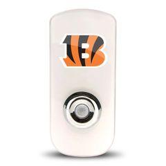 Cincinnati Bengals Night Light LED Flash Lightw/ Built In Sensor NFL