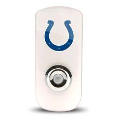 Indianapolis Colts Night Light LED Flash Lightw/ Built In Sensor NFL