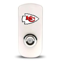 Kansas City Chiefs Night Light LED Flash Lightw/ Built In Sensor NFL
