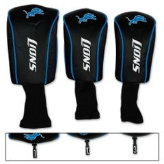Detroit Lions Golf Club Covers 3 pack NFL Licensed