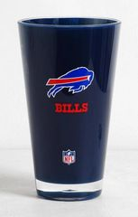 Buffalo Bills Acrylic Round Tumbler Cup 20oz. Insulated/Shatterproof NFL Licensed FREE SHIPPING