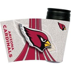 Arizona Cardinals Travel Tumbler Coffee Cup NFL
