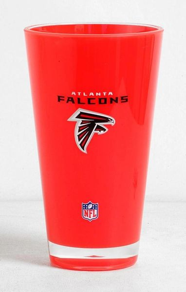 Atlanta Falcons Acrylic Round Tumbler Cup 20oz. Insulated/Shatterproof NFL Licensed FREE SHIPPING