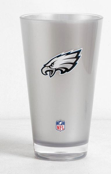 Philadelphia Eagles Tumbler Cup 20oz Round Insulated/Shatterproof NFL