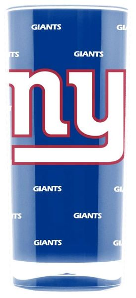New York Giants Tumbler Cup Insulated 20oz. NFL