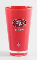 San Francisco 49ersTumbler Cup 20oz Round Insulated/Shatterproof NFL