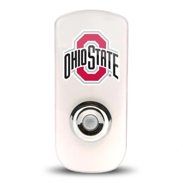 Ohio State Buckeyes Night Light LED Flash Light w/Built In Sensor NCAA