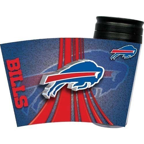 Buffalo Bills Travel Tumbler Coffee Cup NFL