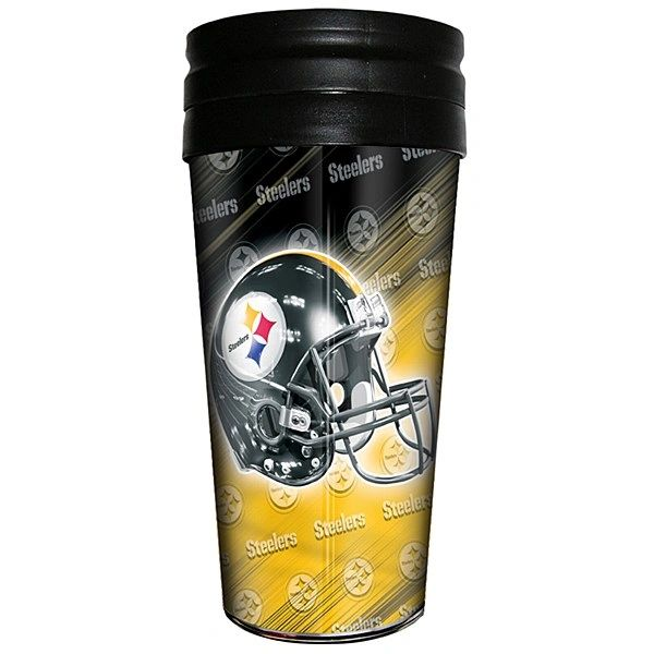Pittsburgh Steelers Insulated Travel Tumbler Coffee Cup NFL