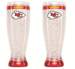 Kansas City Chiefs Crystal Freezer Pilsner 16oz NFL