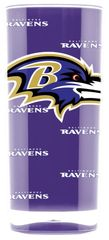 Baltimore Ravens Acrylic Tumbler Cup 16oz Square Insulated/Shatterproof