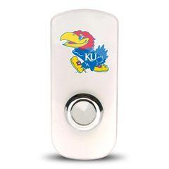Kansas Jayhawks Night Light LED Night Light & Flash Light w/Sensor NCAA