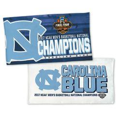 North Carolina Tar Heels 2017 NCAA Champions Locker Room Towel NFL Licensed