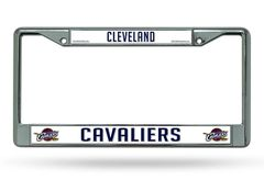 Cleveland Cavaliers Chrome Metal License Plate Frame NBA