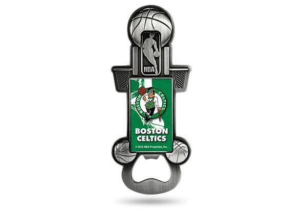 Boston Celtics Bottle Opener Magnetic Party Starter NBA