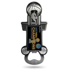 Golden State Warriors 2017 Champions Bottle Opener Magnetic Party Starter NBA