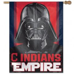 "Cleveland Indians Empire Darth Vader Vertical Flag 22"" x 38"""