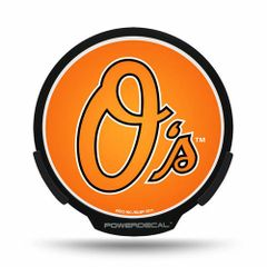 Baltimore Orioles LED Window Decal Light Up Logo Powerdecal