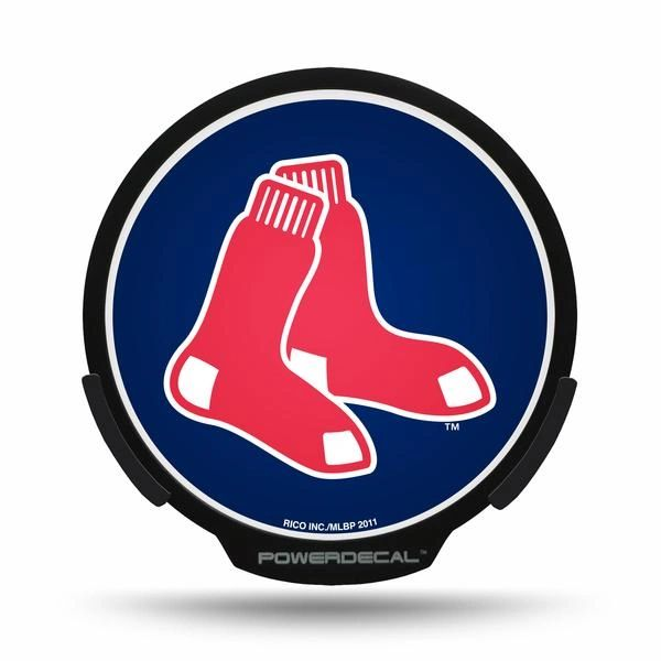 Boston Red Sox LED Window Decal Light Up Logo Powerdecal