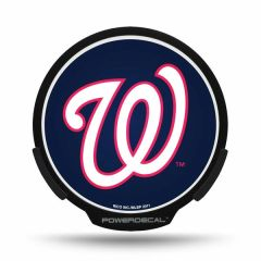Washington Nationals LED Window Decal Light Up Logo Powerdecal
