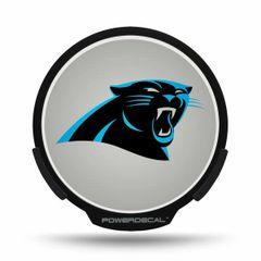 Carolina Panthers LED Window Decal Light Up Logo Powerdecal NFL