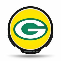 Green Bay Packers LED Window Decal Light Up Logo Powerdecal NFL
