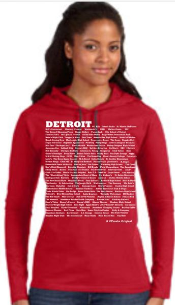 Ladies Colorful Hoodie