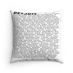 ID Detoit Accent Pillow