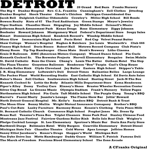 ID Detroit Series #4