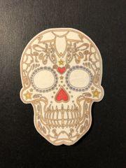 Sugar Skull 2 Design Silly Patch