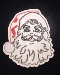 Christmas Santa Design Silly Patch
