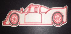 Race Car 2 Design Silly Patch
