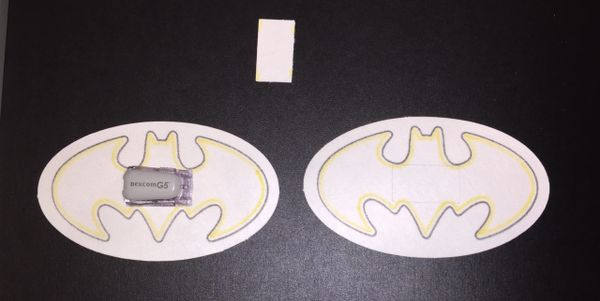 Batman Design Silly Patch