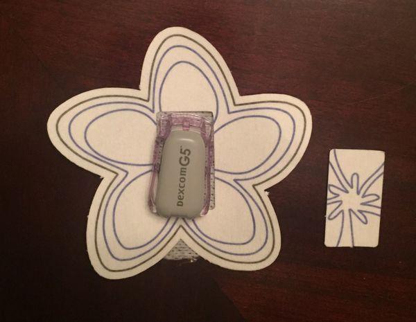 Plumeria Design Silly Patch