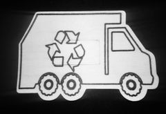 Recycle Truck Design Silly Patch