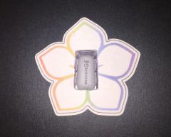 Flower Design Silly Patch