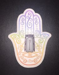 Hamsa Design Silly Patch