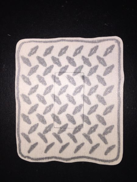 Diamond Plate Design Silly Patch