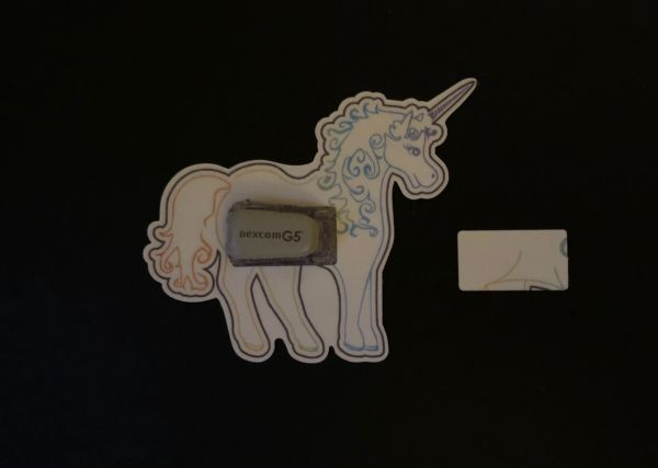 Unicorn Design Silly Patch