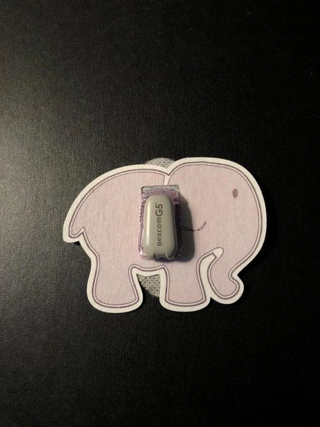Elephant Design Silly Patch