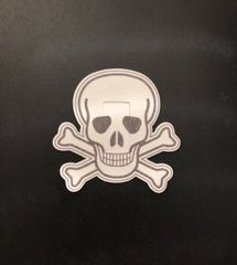 Skull Design Silly Patch
