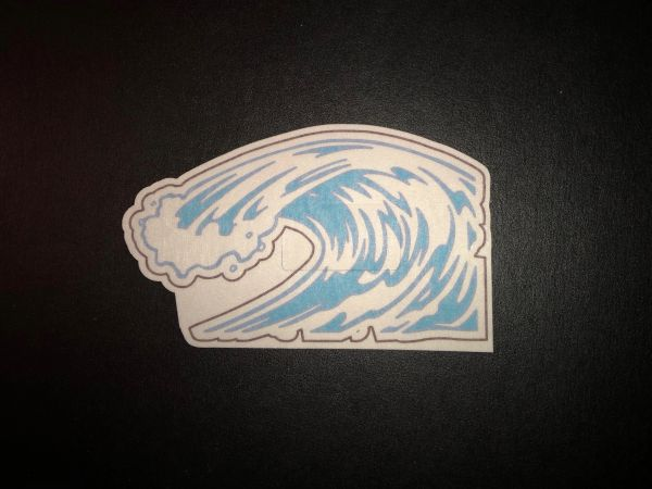 Wave Design Silly Patch