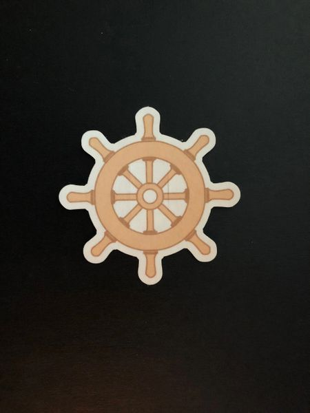 Ship's Wheel Design Silly Patch