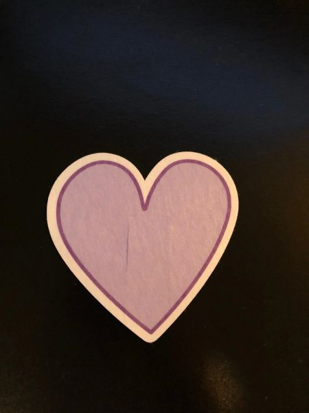 Heart Design Silly Patch