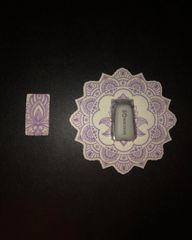Henna Lotus Mandala Design Silly Patch