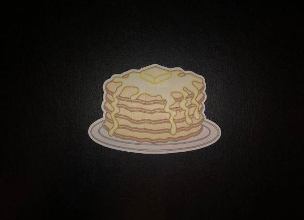 Pancake Design Silly Patch