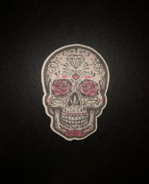 Sugar Skull Design Silly Patch