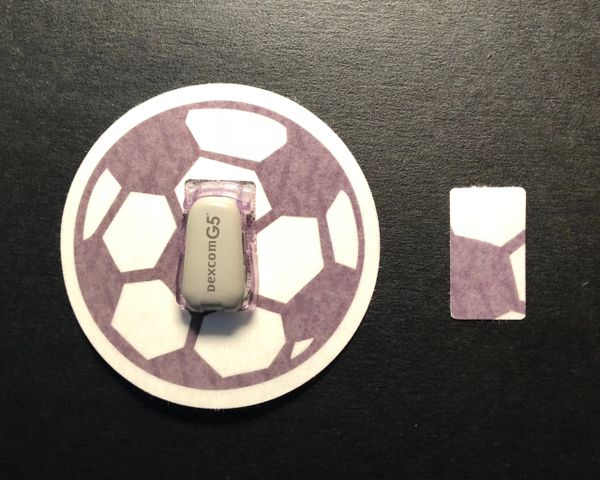 Soccer Ball Design Silly Patch